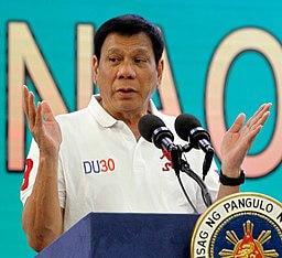 フィリピン共和国大統領 ロドリゴ・ドゥテルテ