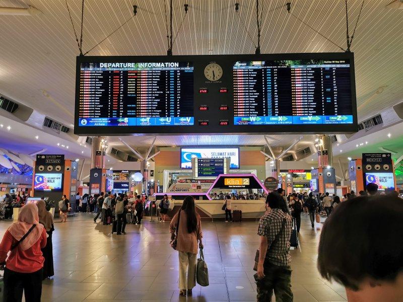 セランゴールにあるクアラルンプール国際空港