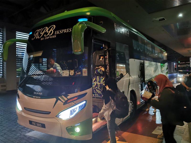 イポーに行くバス