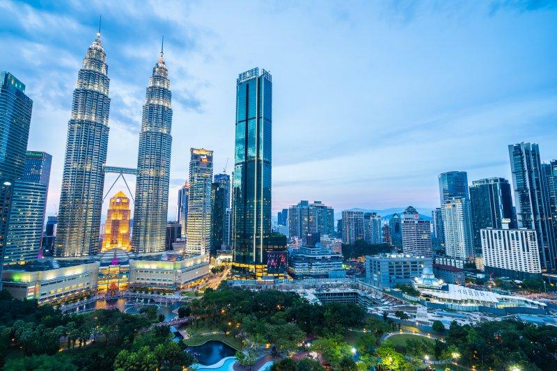 美しい東南アジアの大都会クアラルンプール