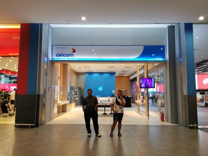 マレーシアでSIMカードを提供するCelcom