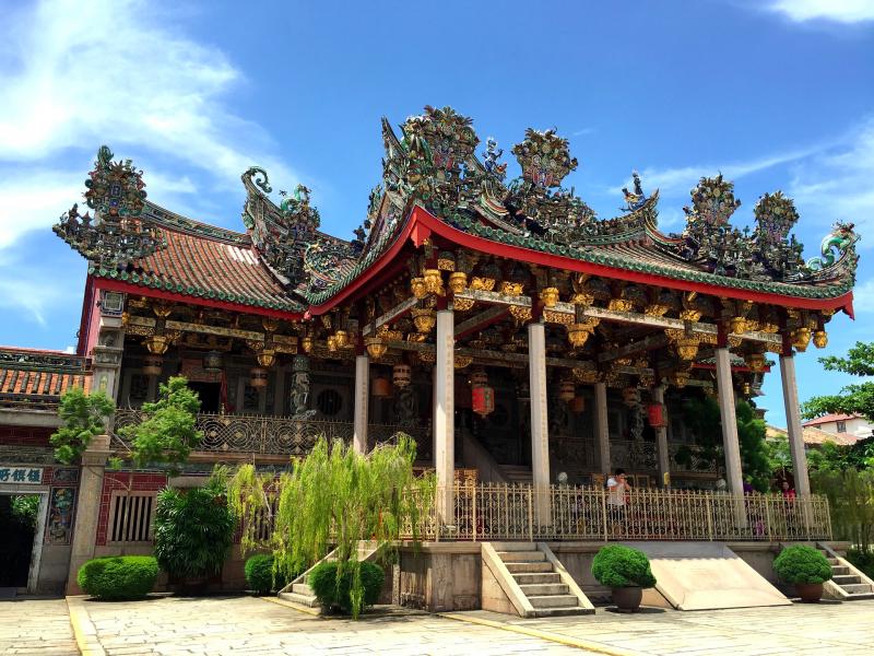 ペナンは中華系マレーシア人が多く、仏教に理解あり