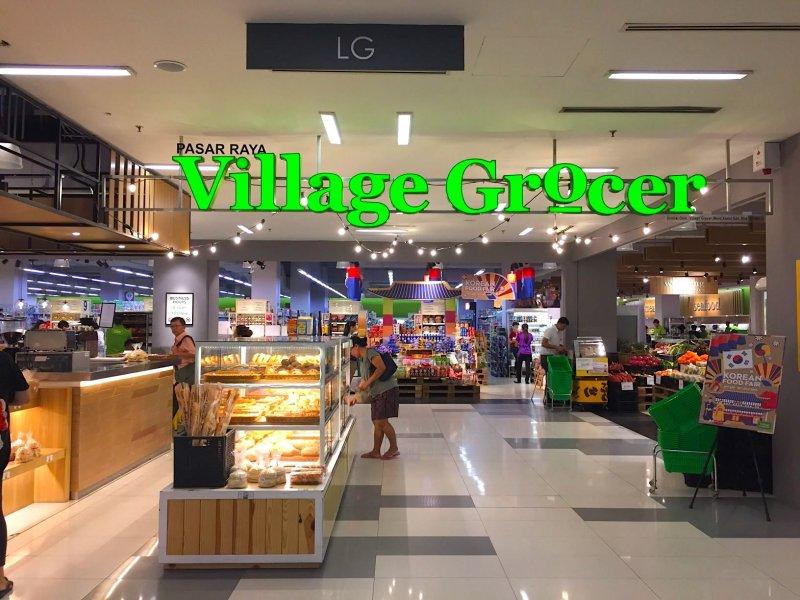 マレーシア・クアラルンプールのビレッジグローサー(Village Grocer)は日本食コーナーが充実